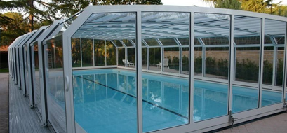 copertura piscine telescopica