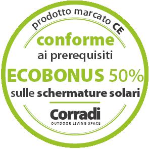 Ecobonus 50% schermature solari