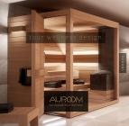 Il catalogo di vendita delle saune Auroom