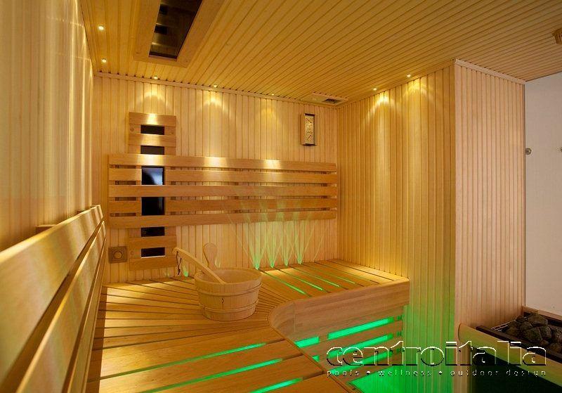 Sauna combinata
