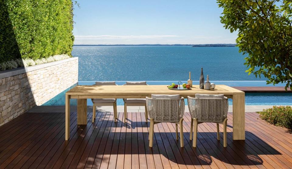 tavolo Talenti da giardino con vista panoramica