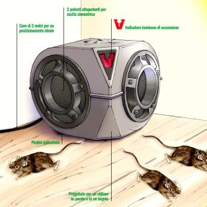Funzionamento trappola scaccia topi