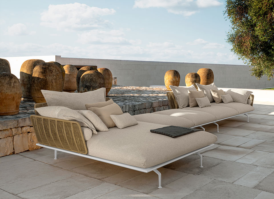 Arredi Talenti esterni di design, mobili di lusso da giardino