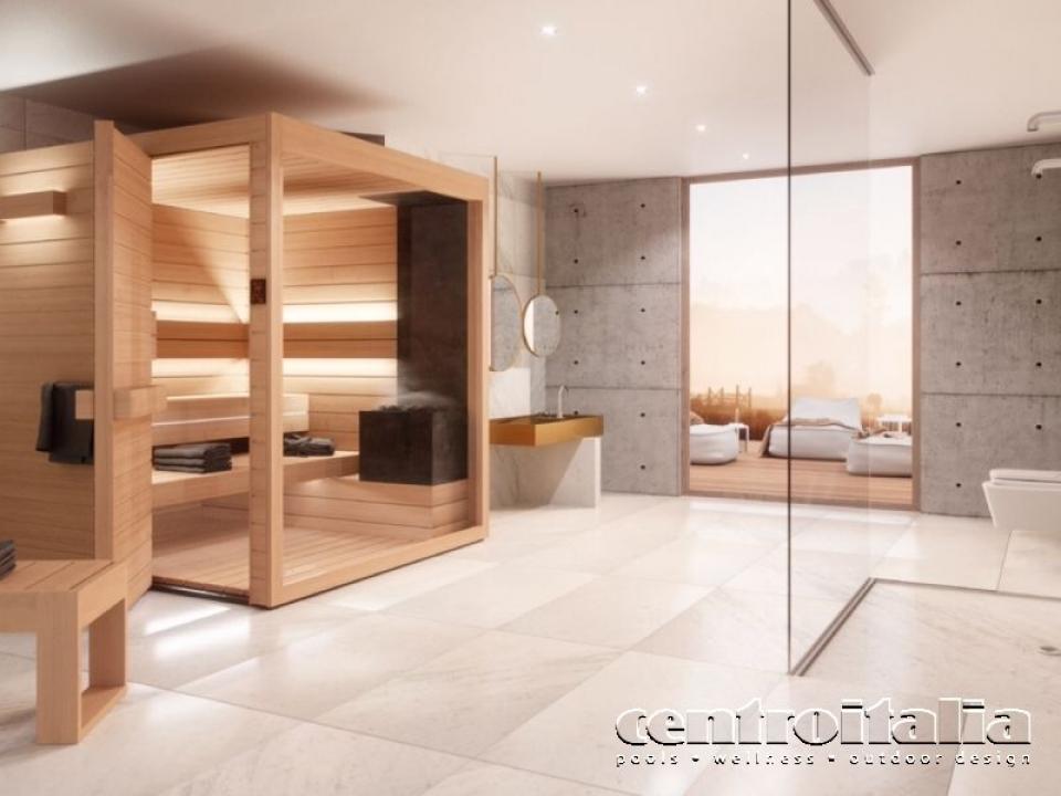 Vendita sauna Auroom